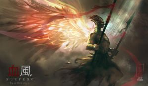 Bloodwind Angel by DreadJim
