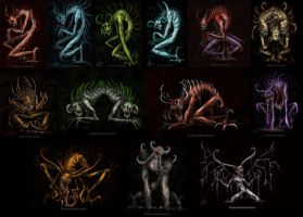 My Demons for my Senior Thesis by NadilynBeato
