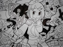 Kagamine Rin by LoveCraft02