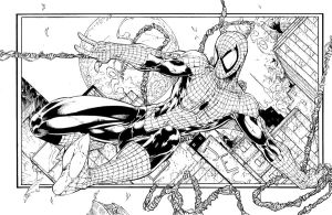 Spiderman commission by JonathanGlapion