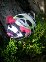 Zada the Sock Mouse by DianaArtimis