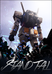 Stand Tall   Gundam Large Art by kirapwns