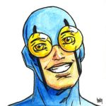 Daily Sketches Blue Beetle by fedde