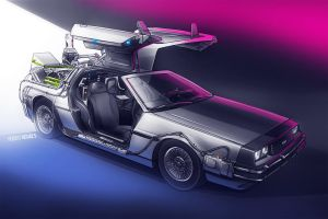 Back To The Future by roobi