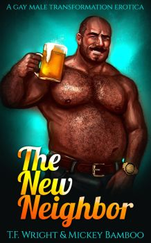 The New Neighbor (Gay Male WG/AP Ebook Cover) by Mytransformations