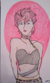 trish una  by zatsukiis
