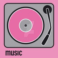 music pink by MKanzy