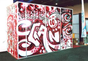 Stand graphics - spray by cherry-candi