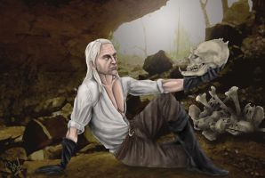 Witcher Hamlet by Jafean