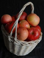 Basket Of Apples by magicsnowflake