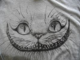 Cheshire Cat tee by SkaraManger