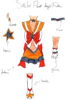 Sailor Flame Angel Fuku design by FlyingTanuki