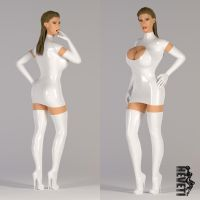Nurseoutfit: Classical Minidress by heveti