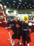 Hidan and Deidara cosplayer by RikaTheAssassin17