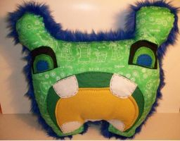 BIG Critter Pillow by LittleCritters00