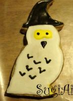 random owl cookie by SugiAi