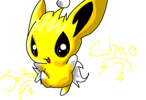 Jolteon Chao by Chaomaster1