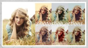 photoshop actions set one. by desireetaylor