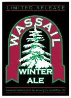 Wassail beer label by Stacey1mb