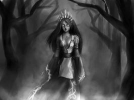 Forest Witch by Ex-zaria
