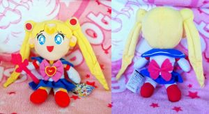 S Season Sailor Moon 2009 Bootleg Plush Custom by SailorSamara