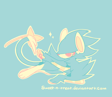 Palette Challenge 1 - Luxray by Sweet-n-treat