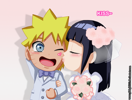 NaruHina SD Wedding by PinkGirl123