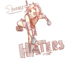 Shannaro Those Haters by cheezkit