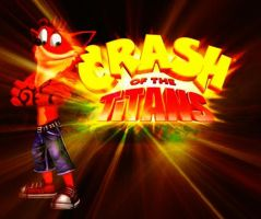 Crash Of The Titans Wallpaper by IamCrashBandicoot