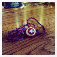 Avengers: Captain America Necklace by Pathlon