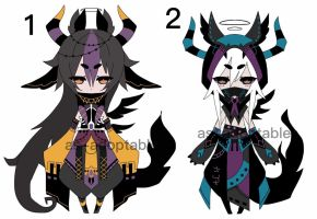 kuronami CS adoptable BATCH CLOSED by AS-Adoptables