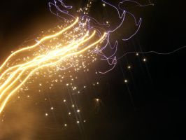 long exposure fireworks 26 by crazyakane