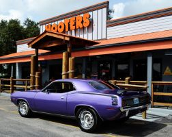 Purple 340 Cuda by Nutdeep