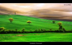 Surreal Tuscany by Marcello-Paoli