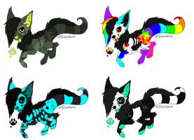 Monster Dog Adopts by Mulch-Adopts