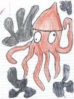 Squiddly Diddly by RecycleBicycle
