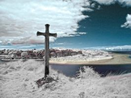 Alnmouth Cross by Rockin-billy