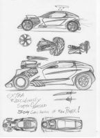 Rad Rod Sketches by MikeSinner