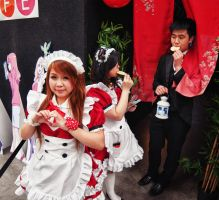 Manifest 2012 Maid Cafe Break by doctor-a