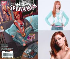 The Spider: Fancast: Mary Jane Watson by Steamland