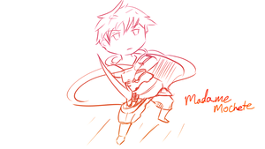 Request - Adol Christin in Bravely Default style by MadameMochete