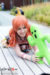 Vanille and the Cactuar by KellywoeshxD