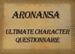 Ultimate Character Questionnaire Aronansa by Sharquelle
