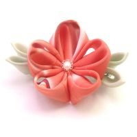 Pink delight barrette by offgenemi