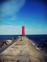 Lighthouse II by evelynrosalia