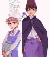 over the garden wall by cakey-face