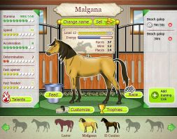 Casual game interface for sale by Vadich