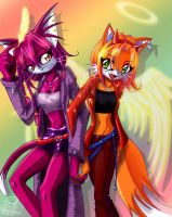 happeh colourful stuff by tailschao