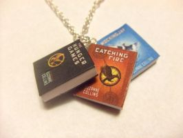 Hunger Games series necklace by manditaaknfv