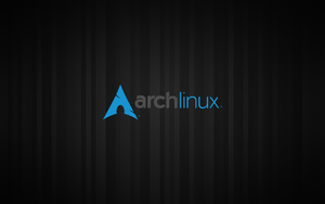 Stripes ArchLinux Wallpaper by Alucryd